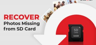 Recover missing photos from SD card