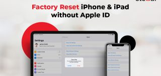factory reset iPhone iPad without an Apple ID