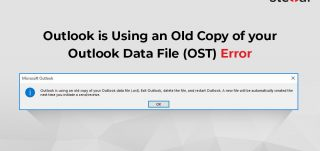 Outlook is Using an Old Copy of your Outlook Data File (OST) Error