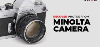 Recover photos from Minolta