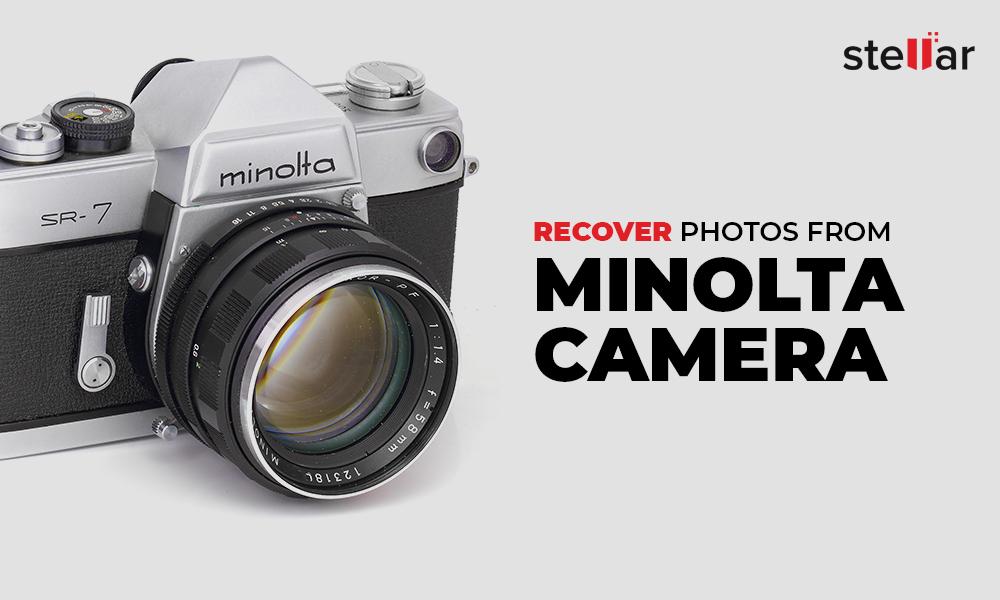 Recover from Minolta camera