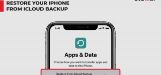 Restore or Set Up iPhone from iCloud backup