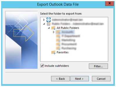 A Corrupted item was encountered: Folder ACL