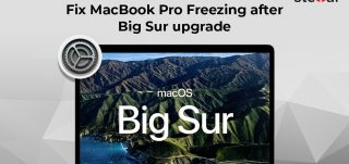 Methods to fix MacBook Pro freezing issue after Big Sur upgrade