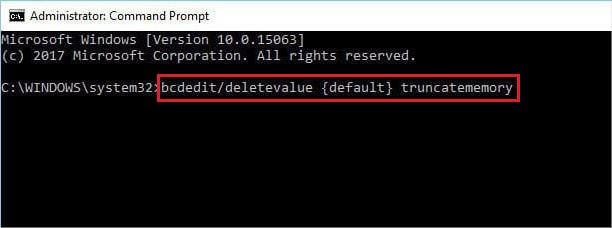 run-bcdedit-deletevalue-default-truncatememory