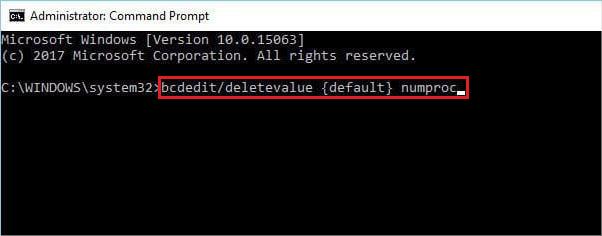 run-bcdedit-deletevalue-default-numproc