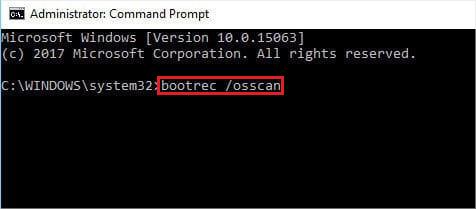 run-bootrec-osscan-command