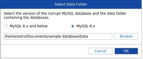 Select MySQL version