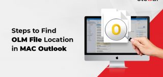 Steps to find OLM file in Outlook for Mac