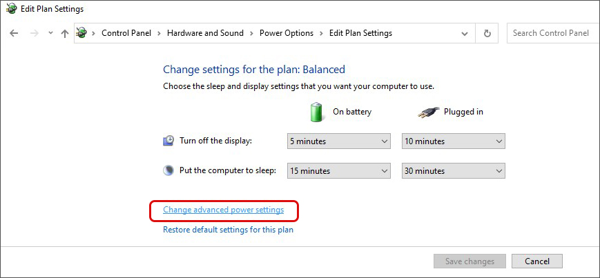 Change-advanced-power-settings