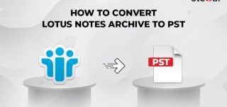 convert NSF archives to .PST