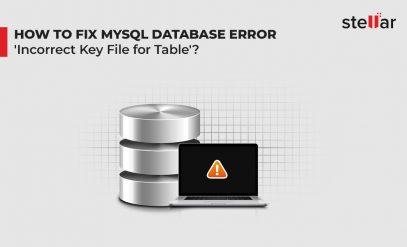 fix MySQL error incorrect Key file for table