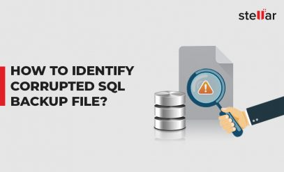 Identify Corrupted SQL Backup File