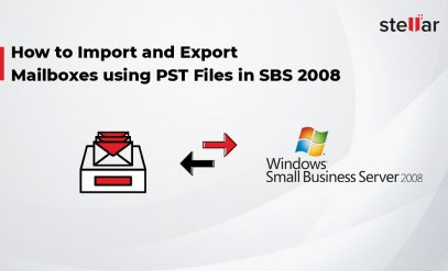 Import and Export Mailboxes using PST Files in SBS 2008