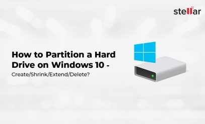How to Partition Hard Drive on Windows 10