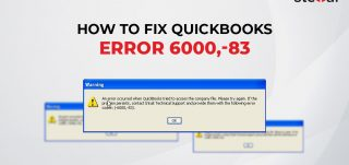 Fix QuickBooks Error 6000, -83