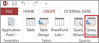 Select Query Design