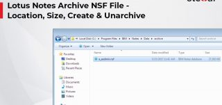 Lotus-Notes-Archive-NSF-File