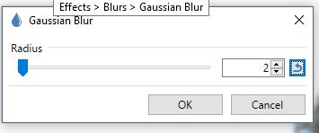 Gaussian Blur box