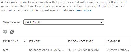 disconnect mailbox
