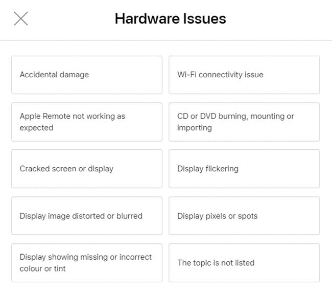 Hardware Issue