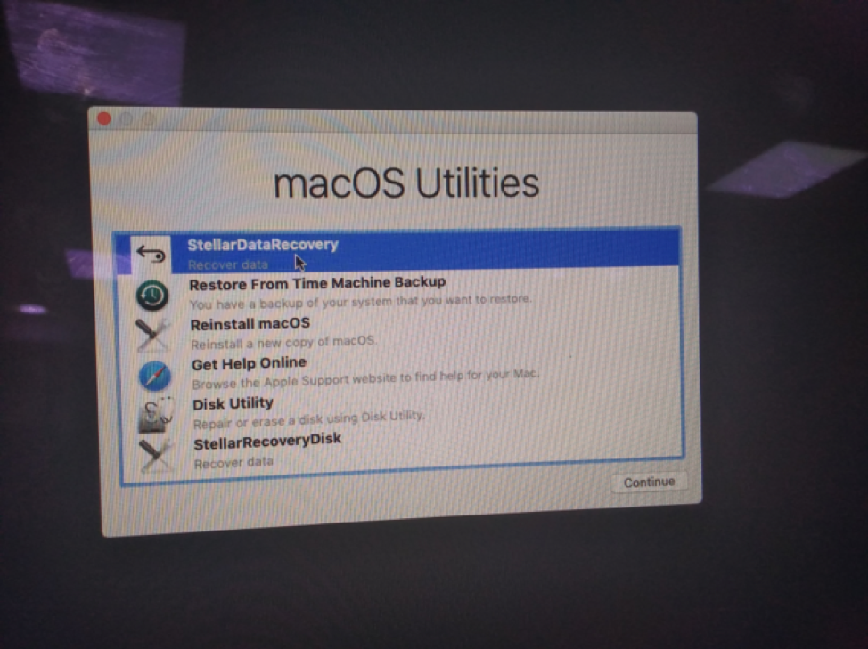 macos recovery drive