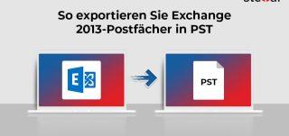 So exportieren Sie Exchange 2013