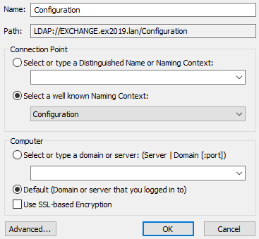 Default-Naming-Context