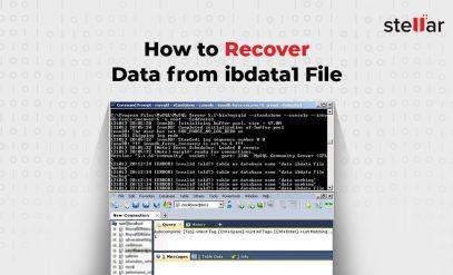 recover mysql database from ibdata1