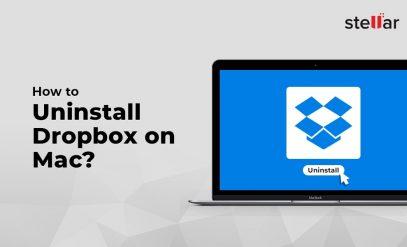 Uninstall Dropbox on mac