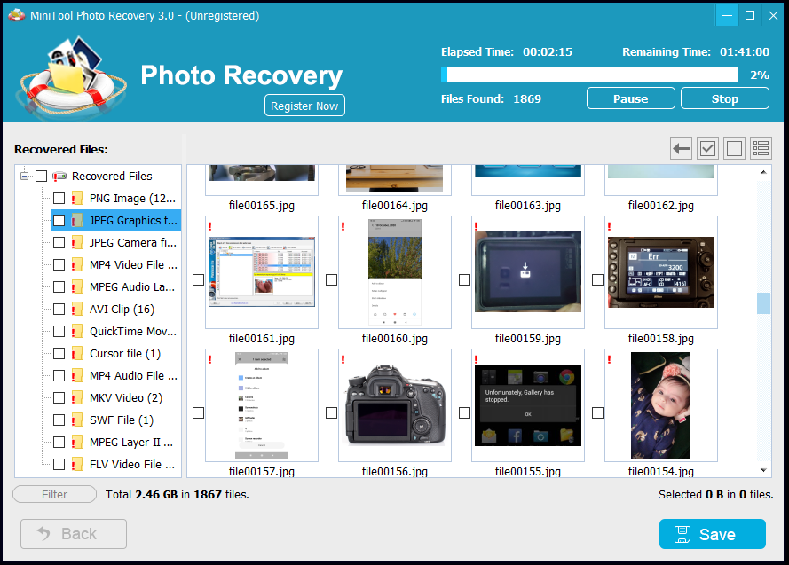 MiniTool Data Recovery Free
