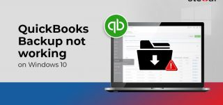 QuickBooks Backup not Working on Windows 10