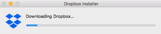 Dropbox Installing