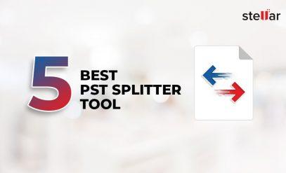 5 Best PST Splitter Tool