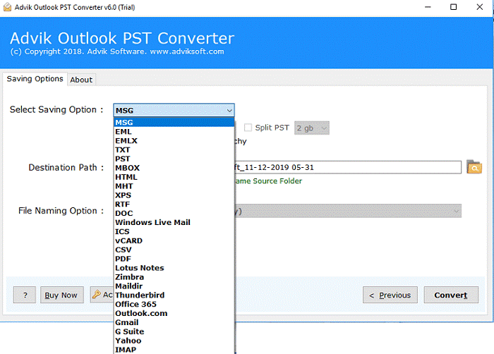 Advik PST Converter