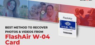Recover Deleted Photos/Videos from Toshiba FlashAir W-04