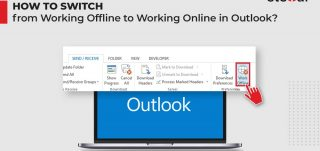 How to Switch from Working Offline to Working Online in Outlook