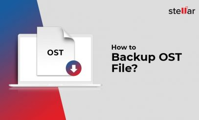 How to backup OST file