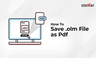 How to Save OLM File as PDF