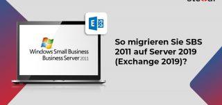 So migrieren Sie SBS 2011 auf Server 2019