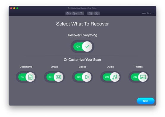 Stellar Data Recovery Free Edition for Mac - Japan