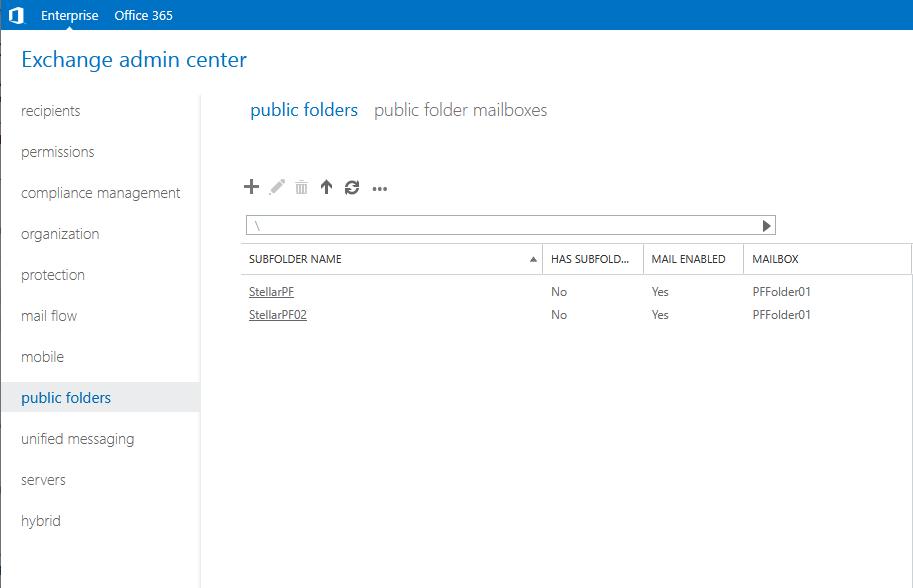 Add New Public Folder