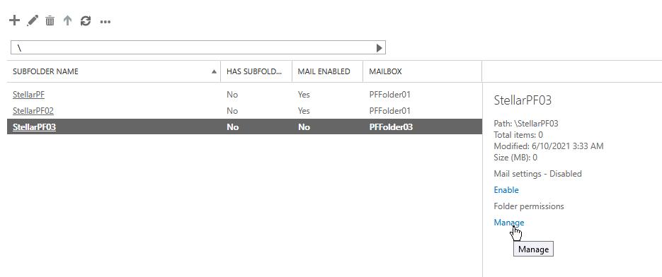 Manage Mailbox Permissions