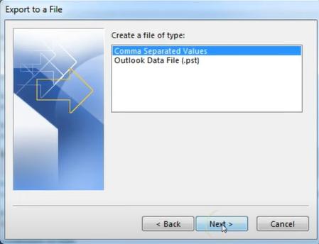 Outlook Data File PST