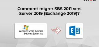Comment migrer SBS 2011 vers Server 2019