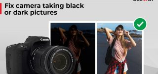 Featured Fix camera taking black or dark pictures