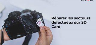 Réparer les secteurs défectueux sur SD Card