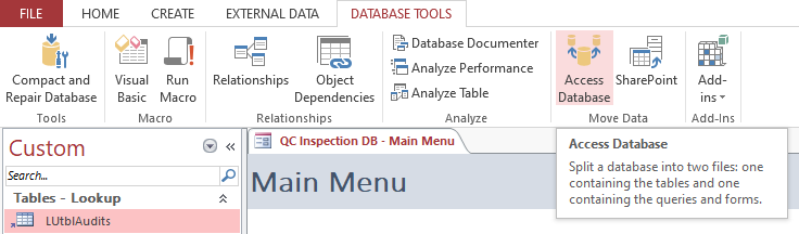 open access database tools