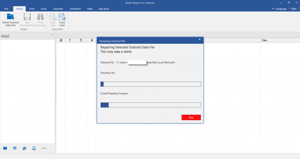 Stellar Repair for Outlook Repaired