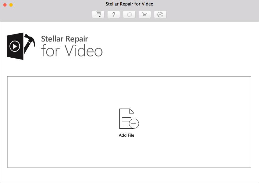 stellar repair for video MAC Add file